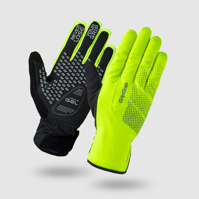 Ride Hi-Vis Waterproof Winter Gloves