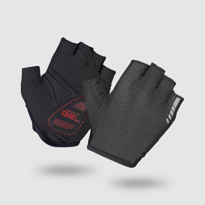 Solara Padded Tan Through Short Finger Gloves