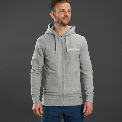 Icon Long Sleeve Organic Cotton Zipper Hoodie
