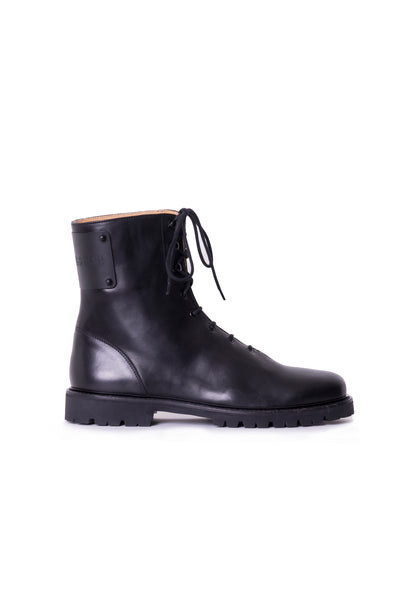 MARDOU&DEAN´S LACE UP BOOTS BLACK
