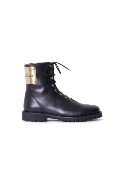 MARDOU&DEAN´S LACE UP BOOTS GOLD