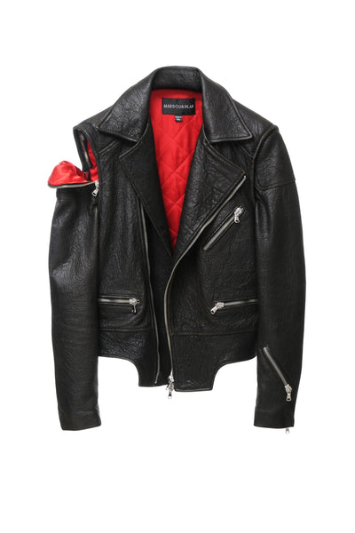 DEAN´S HEAVY LEATHER JACKET BEAR