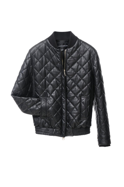 MARDOU´S QUILTED JACKET BLACK