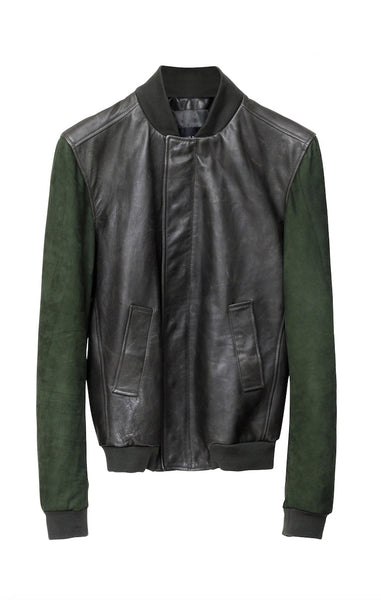 DEAN´S RACER JACKET BOTTLEGREEN