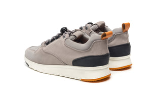 Street Runner Grey - ORZHAUS - Suede and Leather Chelsea and Chukka Desert Boots
