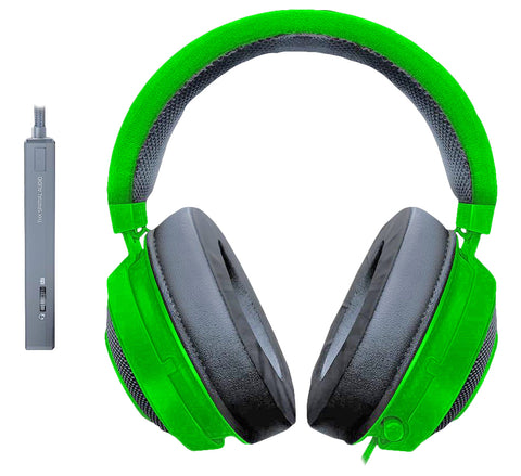 Kraken Tournament Edition Green Headphones - ORZHAUS - Suede and Leather Chelsea and Chukka Desert Boots