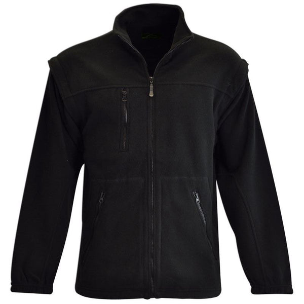 Polar Fleece Jacket Black