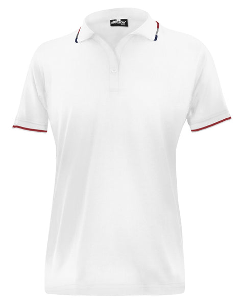ALTITUDE -  Ladies Ash Golf Shirt