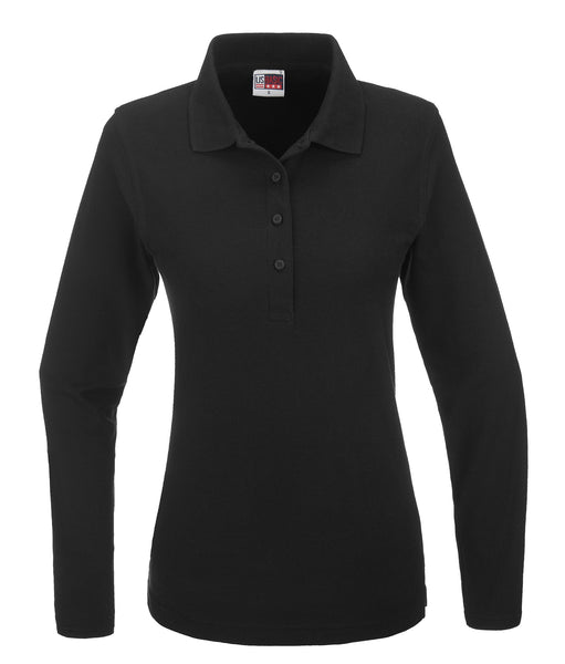 Ladies Long Sleeve Boston Golf Shirt