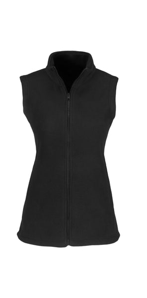 US BASIC - Ladies Yukon Micro Fleece Bodywarmer