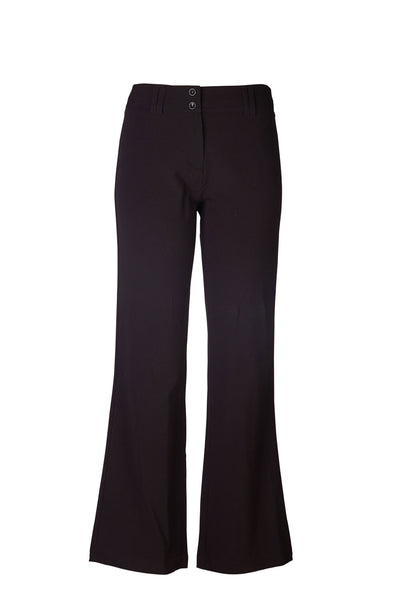 SALE - CARLO GALUCCI - Ladies PV Lycra Bella Bootleg Slacks