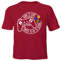 Born to Game Kids Printed T-shirts