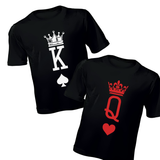 Couples T-Shirts - King and Queen