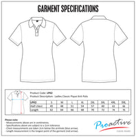 TEE&COTTON - Ladies Classic Pique Knit Polo