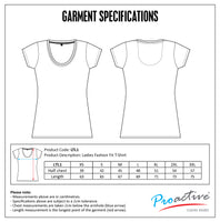 ULTIMATE T - Ladies 150g Fashion Fit T-shirt