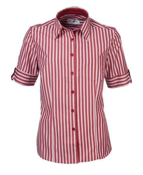 Rolando - N20 Ladies Stripe S/S Angelique Blouse