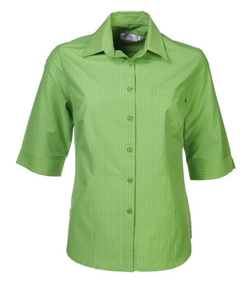 Ladies 3/4 sleeve blouse lime
