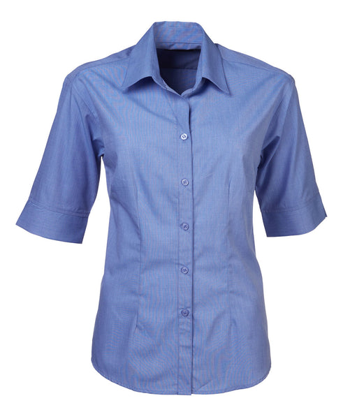 Renzo - S05 Ladies End On End S/S Megan Blouse