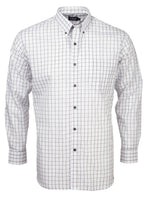 Rolando - K114 Mens Italian Check L/S Lounge Shirt