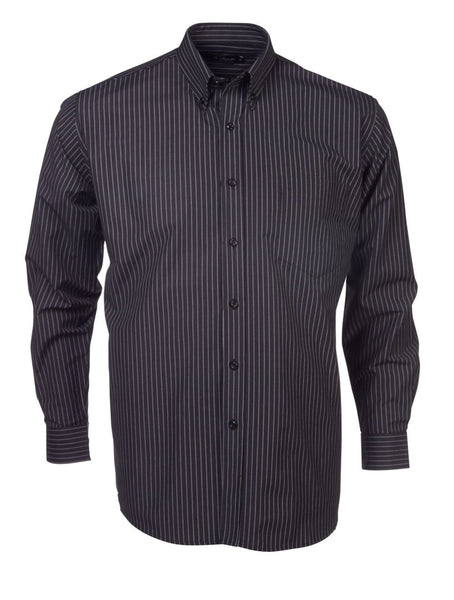 Mens lounge shirt black