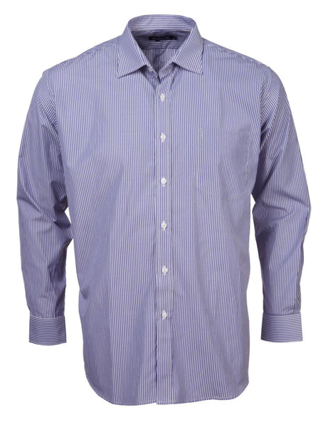 Rolando - K204 Mens Stripe L/S Lounge Shirt