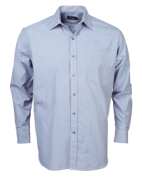 Rolando - K124 Mens Stripe L/S Lounge Shirt