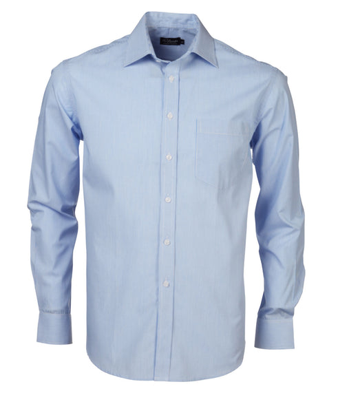 Rolando - K218 Mens Fine Stripe L/S Lounge Shirt
