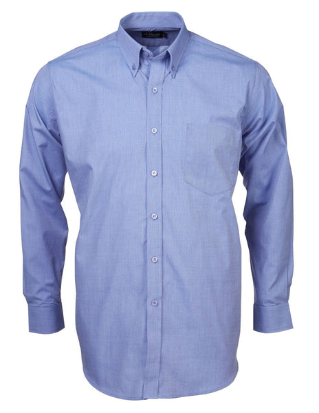 Renzo - S05 Mens End On End L/S Lounge Shirt