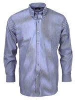 Renzo - S10 Mens Stripe S/S Lounge Shirt