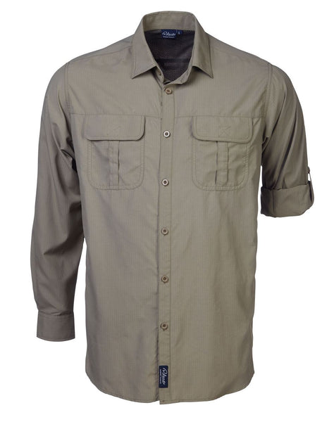 Rolando - K224 Mens Safari L/S Lounge Shirt