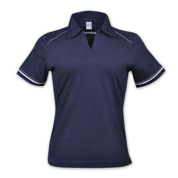 TEE&COTTON - Ladies Flat Piping Polo