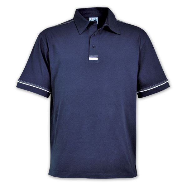 TEE&COTTON - Mens Flat Piping Polo