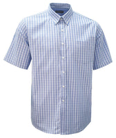 Rolando - K209 Mens Check S/S Lounge Shirt