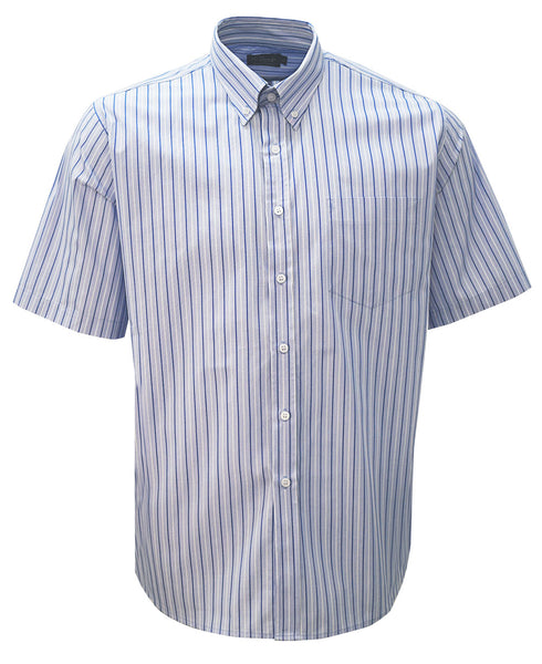 Rolando - K210 Mens Stripe S/S Lounge Shirt