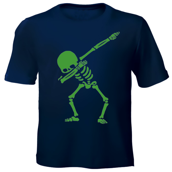 Skeleton Printed Kids T-Shirt
