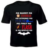 Superheroes Printed Kids T-Shirts
