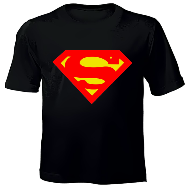 Superman Hand Printed T-Shirts