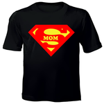 Printed T-Shirt - SUPERMOM