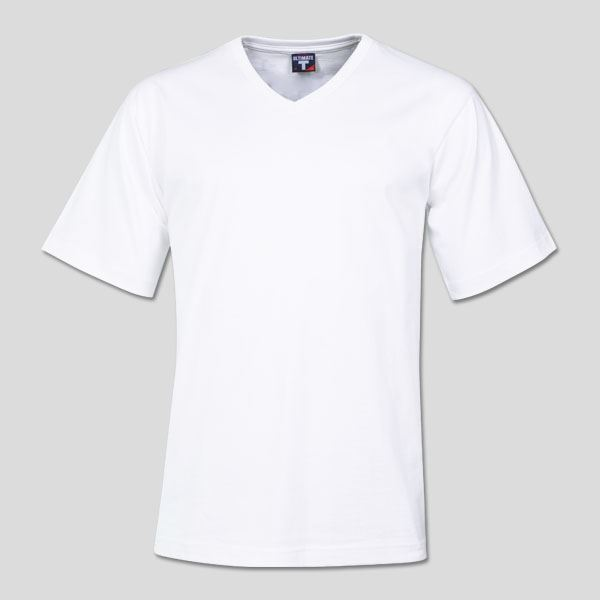 ULTIMATE T - 170g Combed Cotton V-neck T-shirt