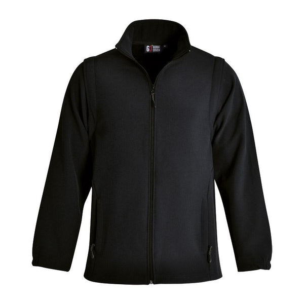 GLOBAL CITIZEN - Mens Zip Off Sleeve Softshell Jacket
