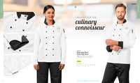 Unisex Long Sleeve Toulon Chef Jacket