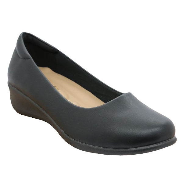 Ladies Closed Slip On Pump