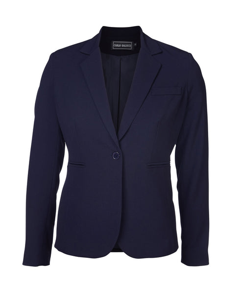 CARLO GALUCCI - Ladies PV Lycra Justine Slim Fit Jacket