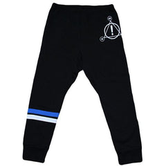 3/4 Length Stripe Logo Joggers