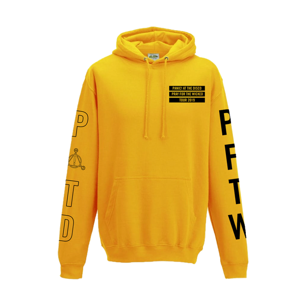 Gold Outline Pullover Hoodie