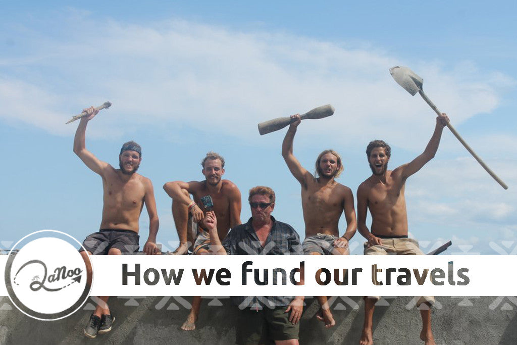 How do we fund our travels?