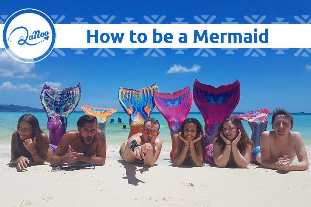 Be a Mermaid in Boracay, The Philippines