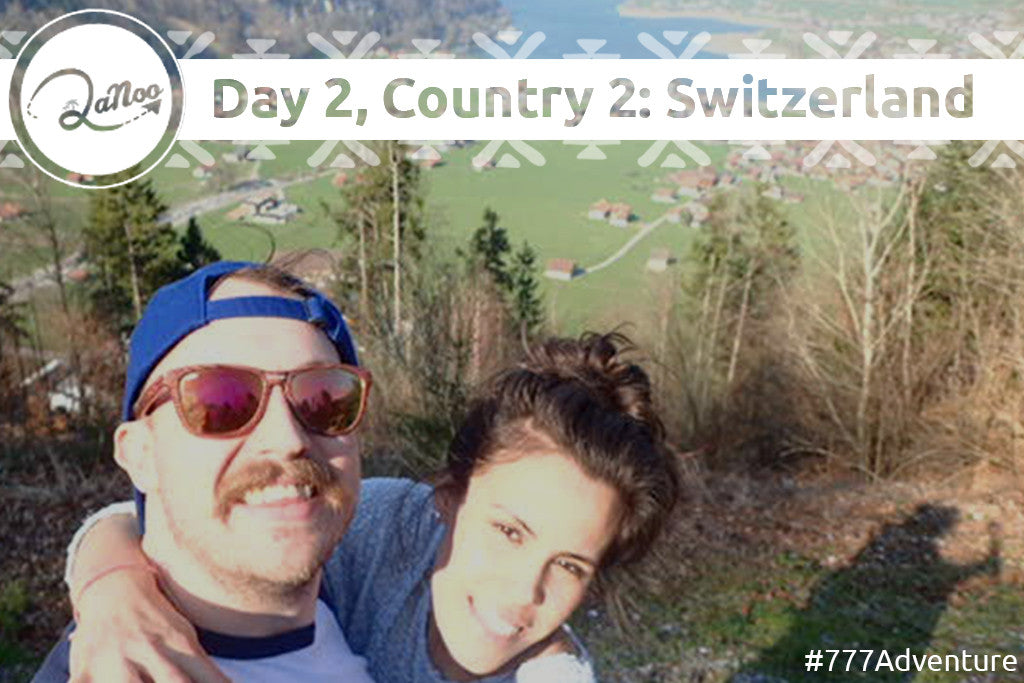 Day 2, Country 2 of the 777 Adventure: SWITZERLAND