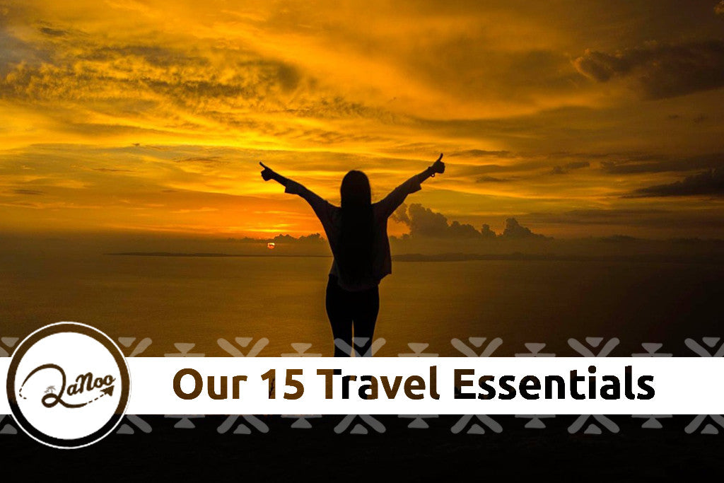 The 15 things we never travel without!