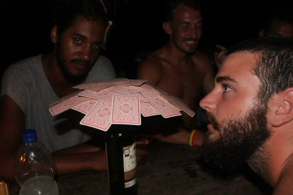 2anoo card game... beer blow on the road
